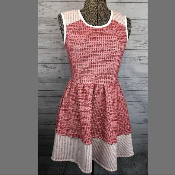 ASOS Petite Dresses & Skirts - ASOS petite dress tweed pink red and white 2P
